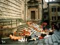 06: Perugia – Töpfermarkt hinter dem Dom