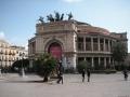 Probe im Teatro Politeama Garibaldi